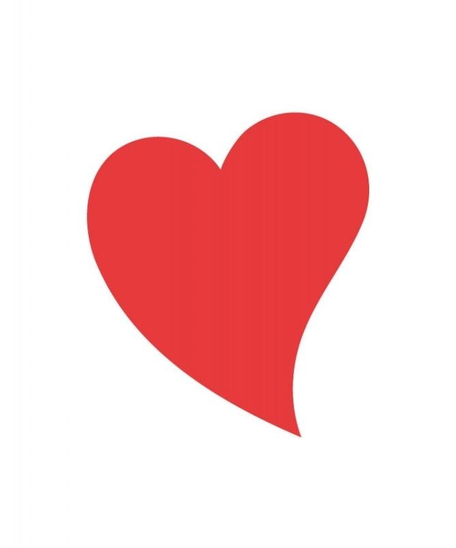 Sticker - hart 11