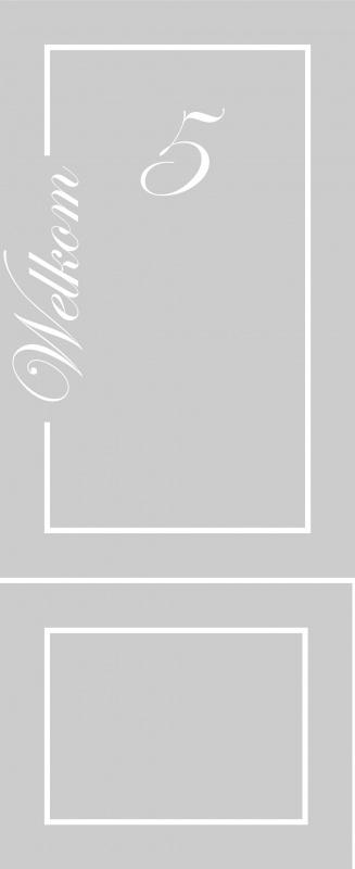 maatwerk raamfolie - Tineke van der Vliet