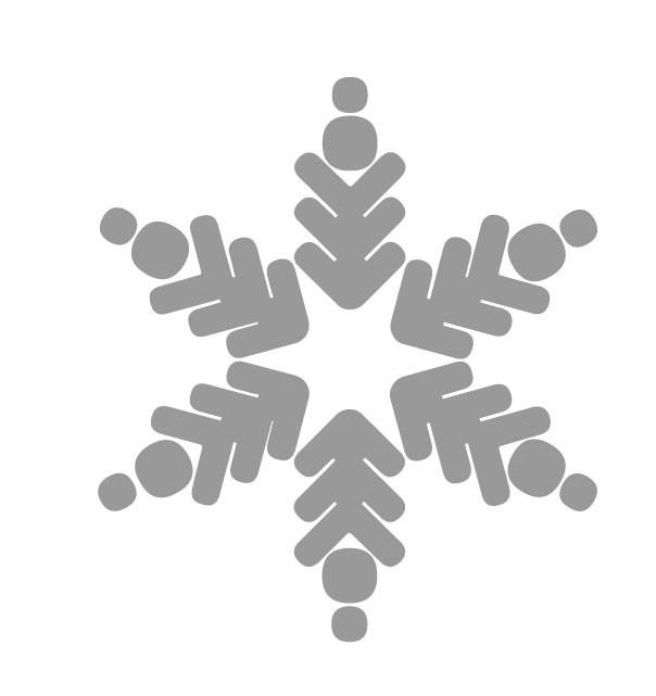 ijsvlok sticker 3