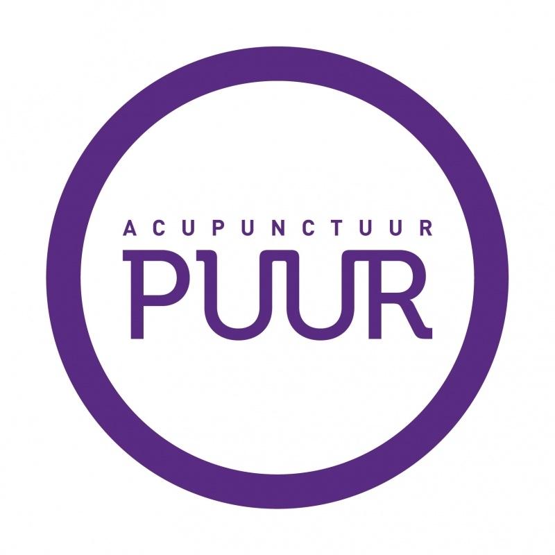 maatwerk raamsticker - acupunctuur PUUR