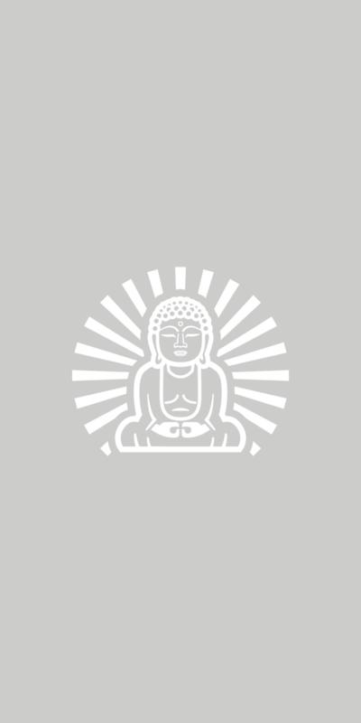 Raamfolie - Buddha (boedha) - 2