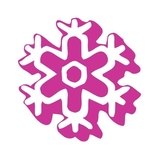 ijsvlok sticker 1