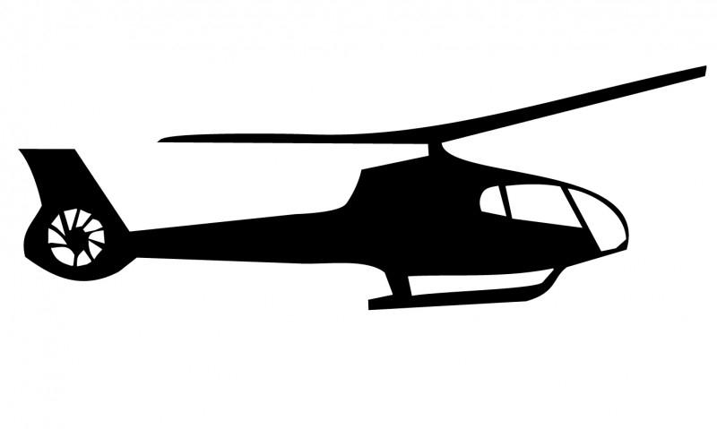 Wandsticker  - helicopter 5