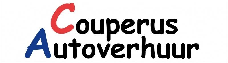 Maatwerk autostickers - Couperus Autoverhuur*