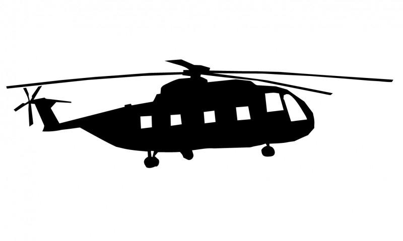 Wandsticker  - helicopter 3
