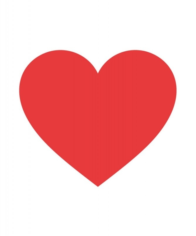 Sticker - hart 9