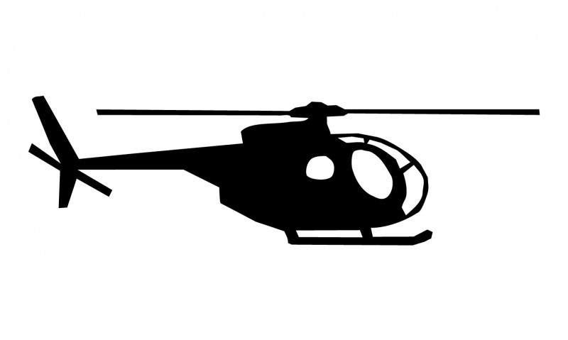 Wandsticker  - helicopter 1