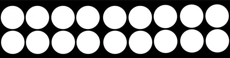 etiketten cirkel small - whiteboardsticker