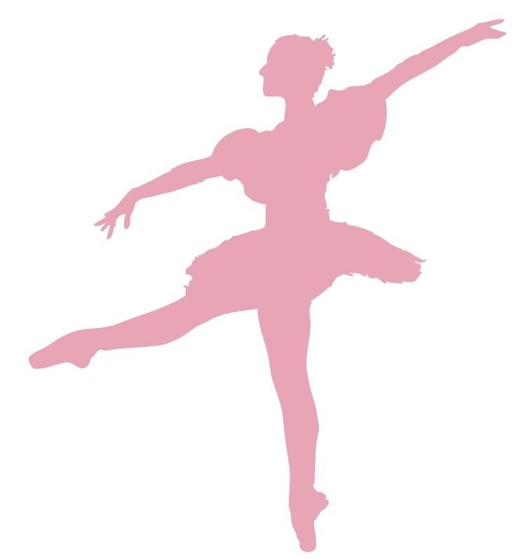 Wandsticker - Ballet danseres