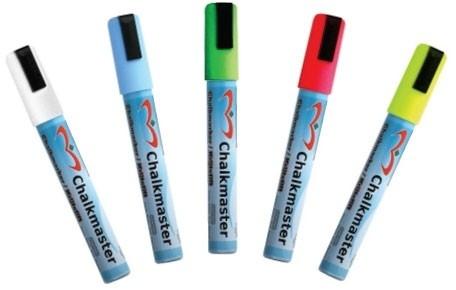 Krijtstiften 5 stuks kleuren (5 mm)