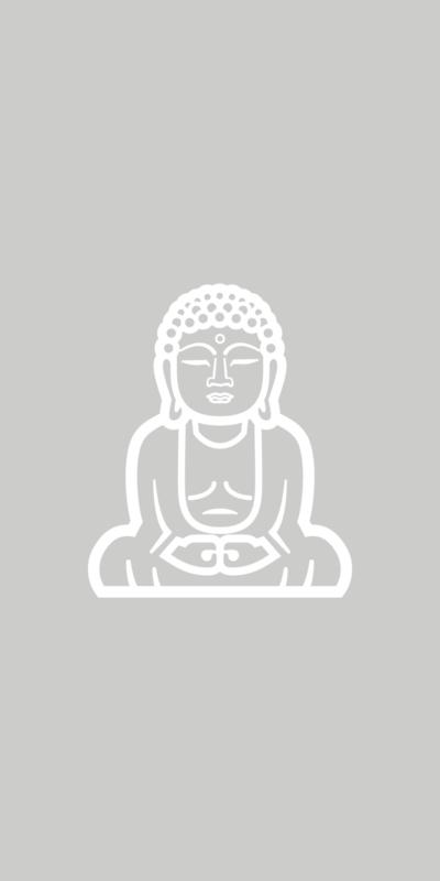 Raamfolie - Buddha (boedha) - 1