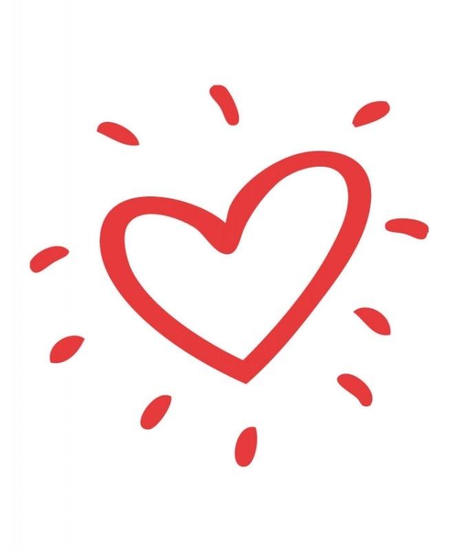 Sticker - hart 8