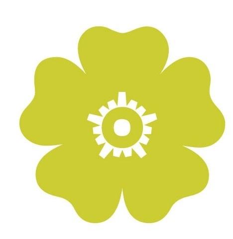 Bloemensticker 16