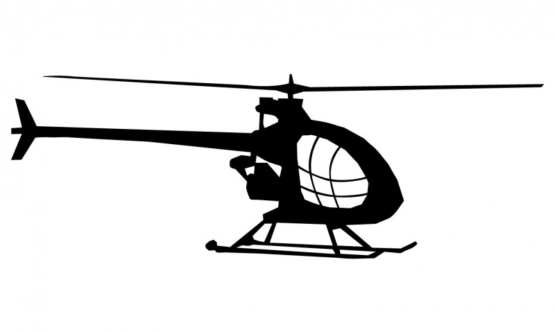 Wandsticker  - helicopter 4