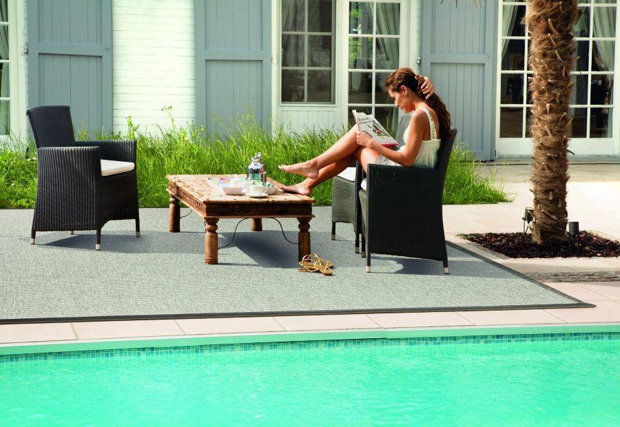 Outdoor karpet zwembad