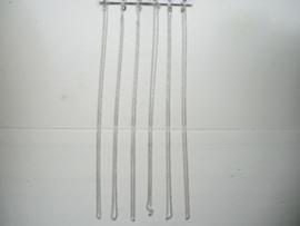 Zilveren ketting 42 cm zeer geschikt voor kinderen
