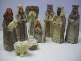 Mooie Kerstgroep 9 delig van Polystone