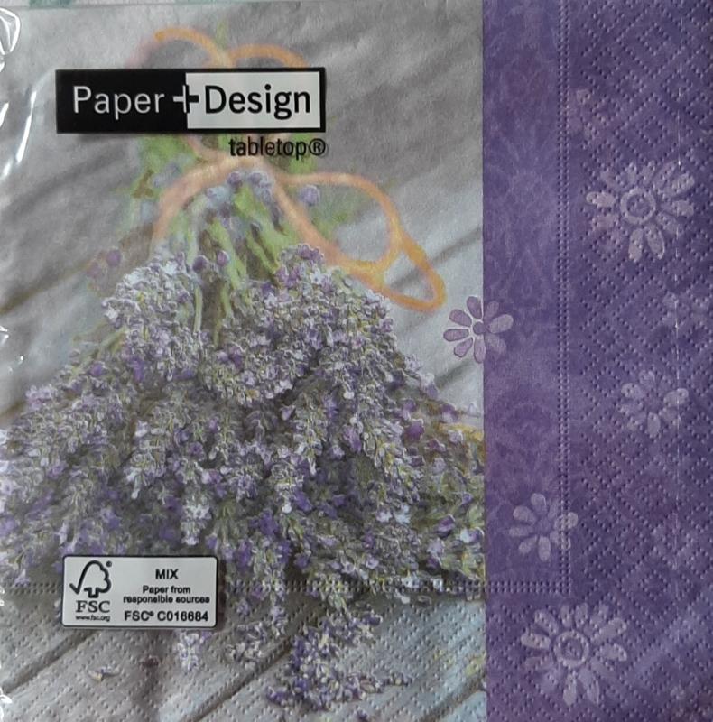 Lavendel servetten 33 x 33 cm