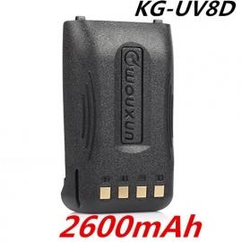 2600MaH Batterij tbv de KG-UV8D