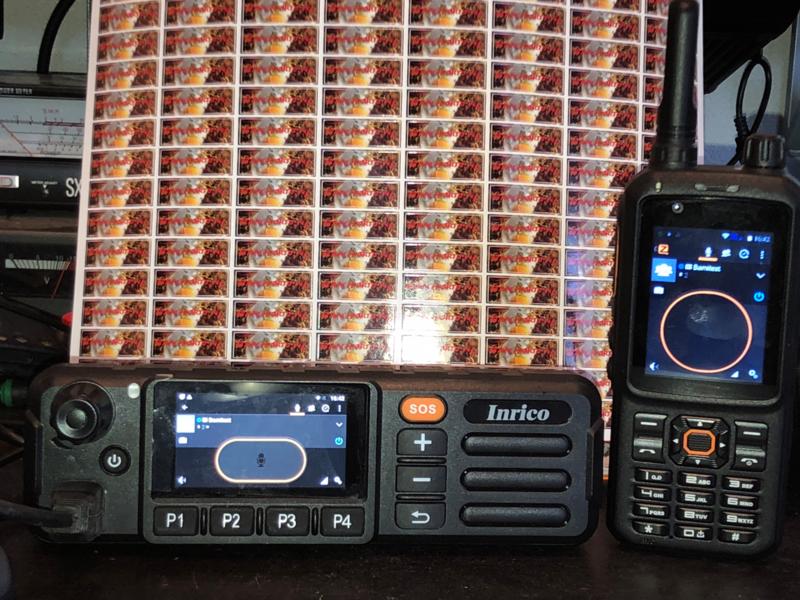Inrico TM-7 Voipmobilofoon met gps wifi/3G