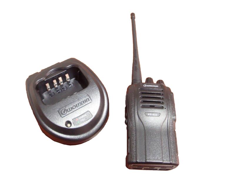 Analoge portofoon VHF 5 stuks per dag/weekend/week