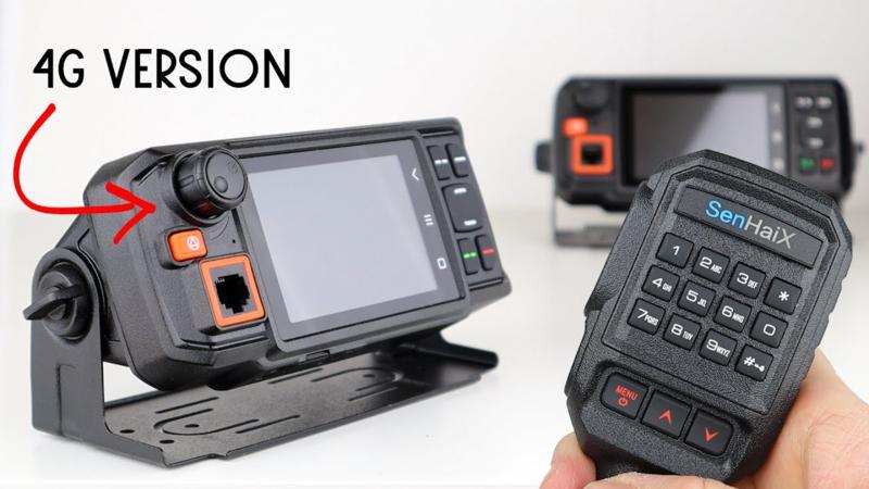 Senhaix N60 4G GPS Voipmobilofoon