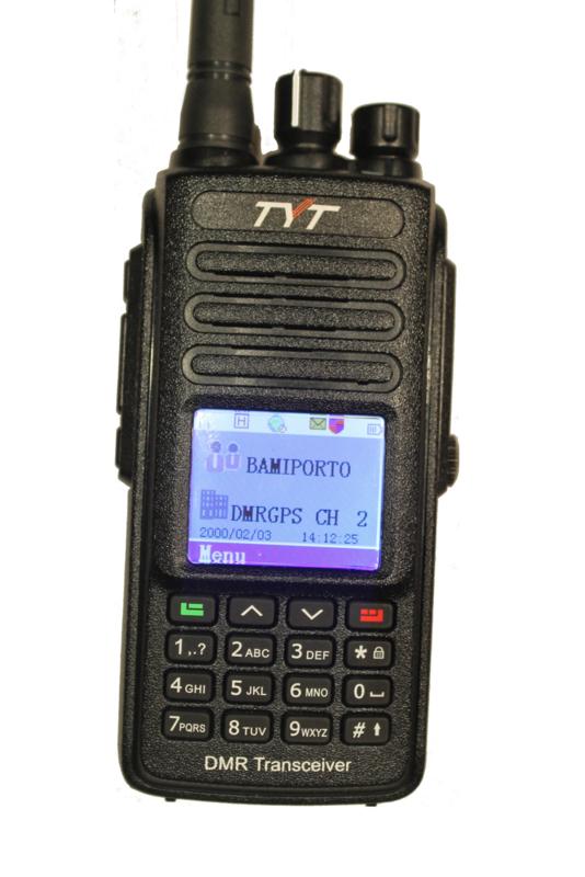 RT-8 (MD-390) Gps dmr uhf  Voordeelpakket
