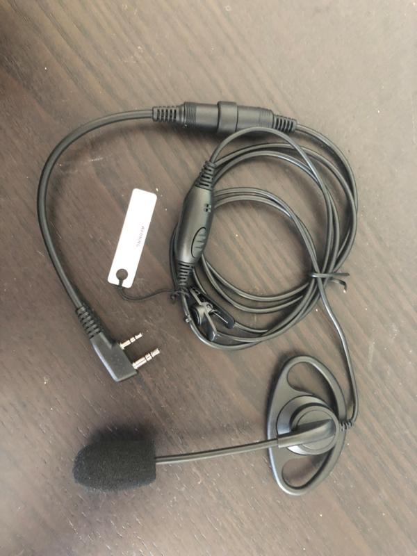 Schelpoortje met mic op steel