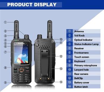 Inrico T-298s Voipportofoon met UHF analoog