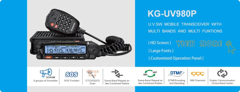 KG-UV980P Quadbander  (11)/10m/6m/2m/70cm