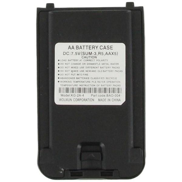 Batterypack tbv AA batterijen