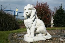 Twee leeuwen set. Super groot