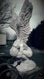 Grote treurende engel