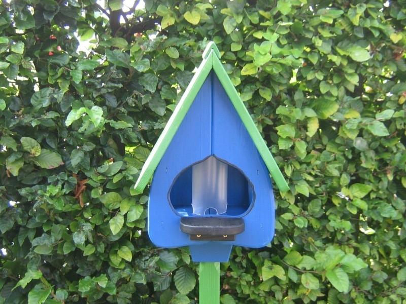 Vogelhuisje 74 -5 Blauw - Groen