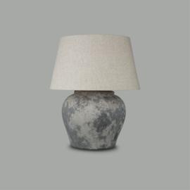 Boost rustic stenen lamp Graniet Grijs