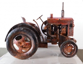 Tractor ' Old Timer '  -   3D metaal