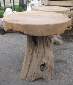 Houten bijzettafels gemaakt uit teak hout