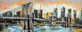 Brooklyn Bridge – Metalen 3D schilderij