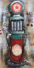 Vintage benzine pomp  - Caltex