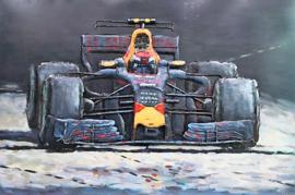 Red Bull Racing – Metalen 3D schilderij