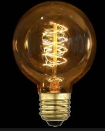 Globe Bol Lamp 80 mm  E 27  -  40 W