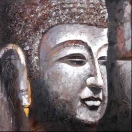 Boeddha schilderij ook mogelijk als tweeluik