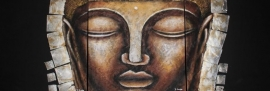 Boeddha schilderij 3 - luik