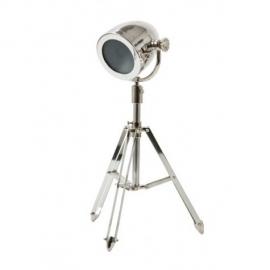 Balmoral  zilveren driepoot vloerlamp