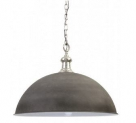 Halve bol lamp 'World Concrete'