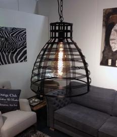 Hanglamp Brussel  Zwart