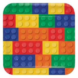Bricks bordjes 8 stuks