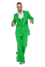 Disco fever kostuum groen