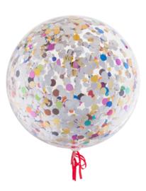 Confetti ballonnen multi 45cm