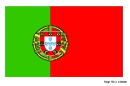 Vlag Portugal 90x150